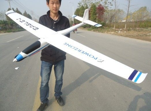 Find More RC Airplanes Information about 383 glider remote control plane KIT…