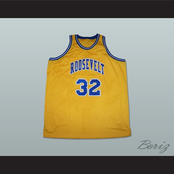 """Julius Erving 32 Roosevelt High School Basketball Jersey. STITCH SEWN GRAPHICS  CUSTOM BACK NAME CUSTOM BACK NUMBER ALL SIZES AVAILABLE SHIPPING TIME 3-5 WEEKS WITH ONLINE TRACKING NUMBER Be sure to compare your measurements with a jersey that already fits you. Please consider ordering a larger size, if you prefer a loose fit. HOW TO CALCULATE CHEST SIZE: Width of your Chest plus Width of your Back plus 4 to 6 inches to account for space for a loose fit. Example: 18"""" wide chest plus 18"""" wide…"""