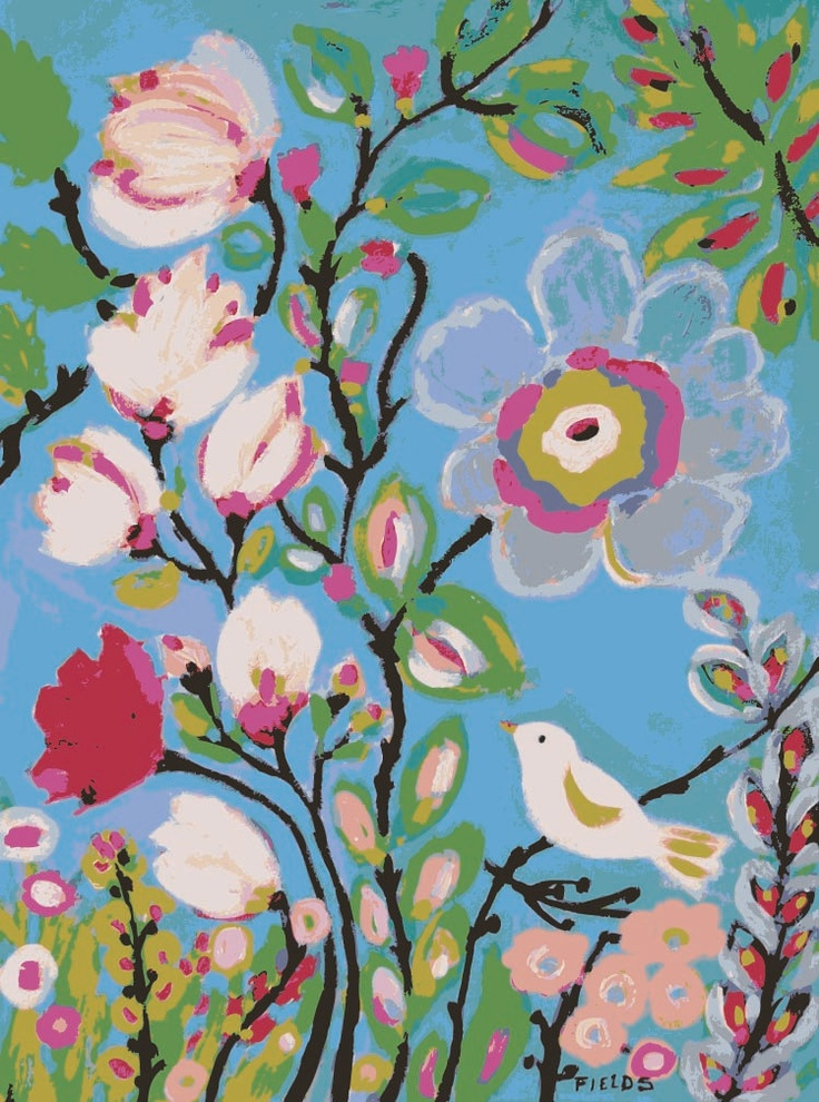 Choice Garden - Print by Karen Fields 11 x 14