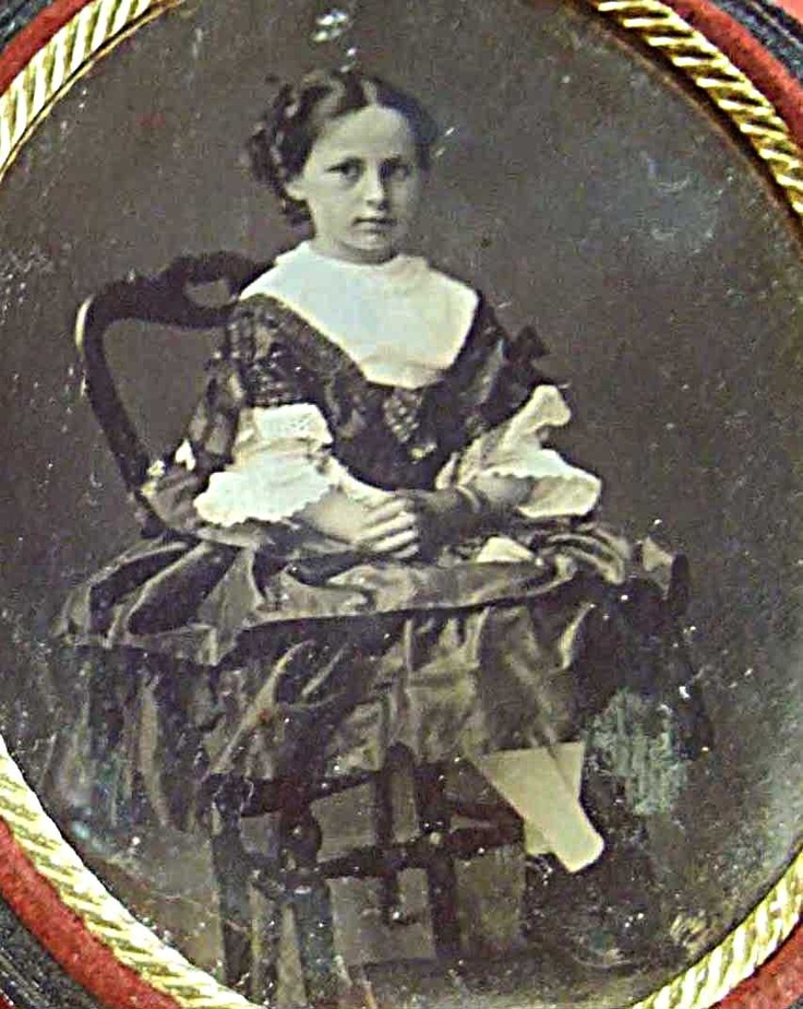 Delightful Charming Young Lady French Oval Daguerreotype 1850'S | eBay