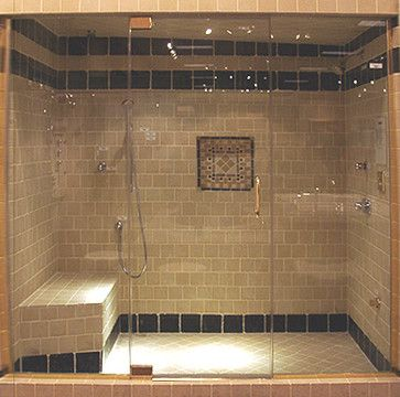 Custom Frameless Shower Doors Traditional Showers