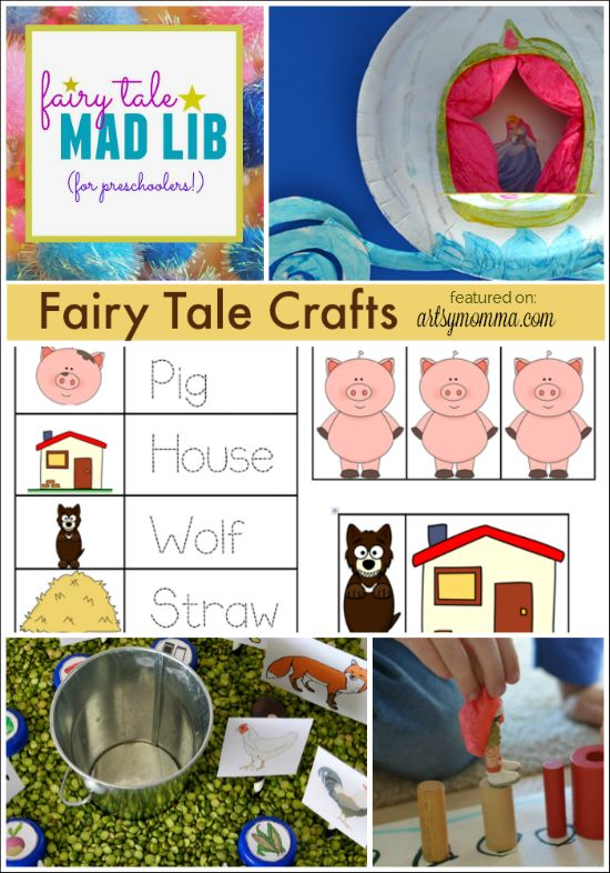 fairy tale crafts and activities for preschoolers crafts activities and little red. Black Bedroom Furniture Sets. Home Design Ideas
