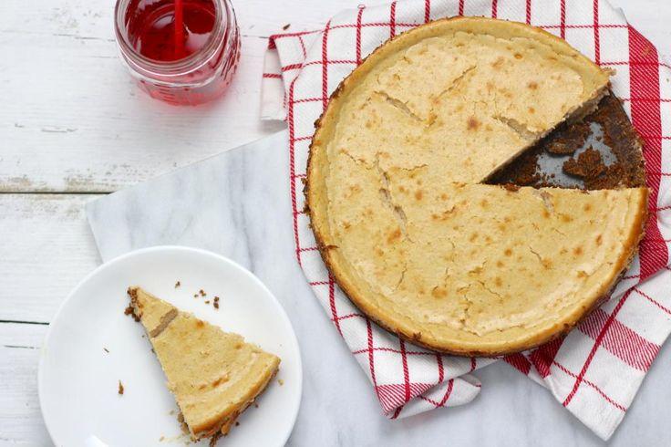 cheesecake met karamel en bastogne.