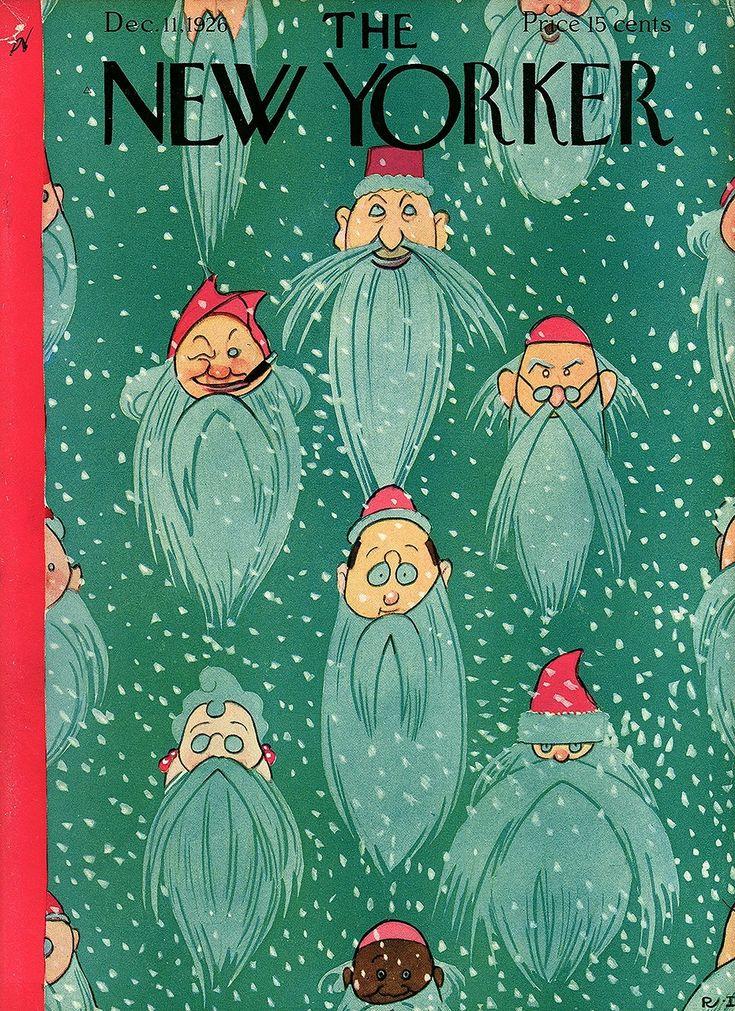 месячном журнал с новогодними открытками старик будет