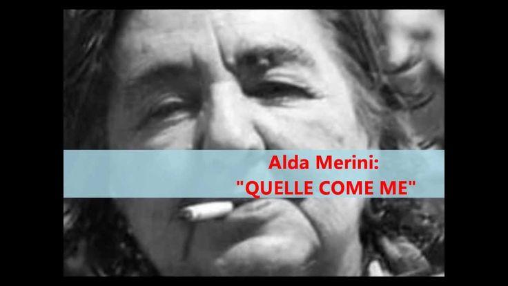 """Alda Merini: """"QUELLE COME ME"""" - Le videopoesie di Gianni Caputo"""