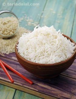 Chinese Rice, Chinese Cooked Rice recipe | Chinese Recipes | by Tarla Dalal | Tarladalal.com | #4182