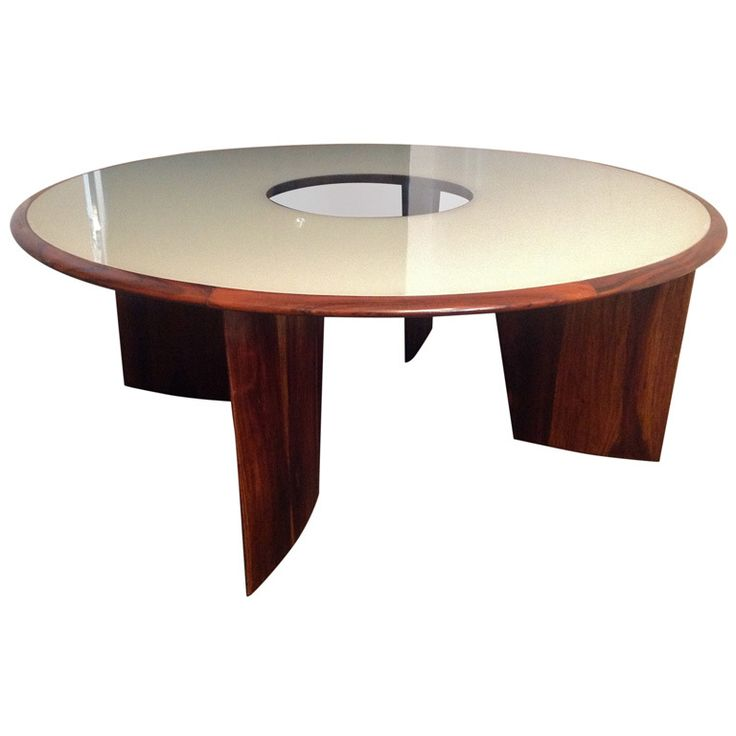 For Sale On   Tenreiro Dining Table For Eight A Rare Masterpiece Created By  One Of The Most Famous Brazilian Furniture Designer.