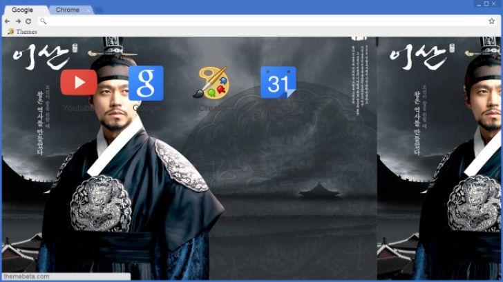 Yi San Theme Chrome Theme - ThemeBeta