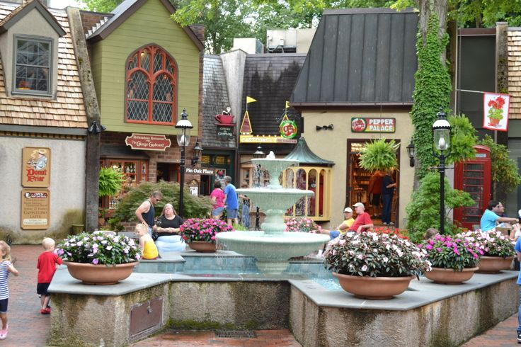 The Village in Downtown Gatlinburg has many unique shops to choose from. You will love it!