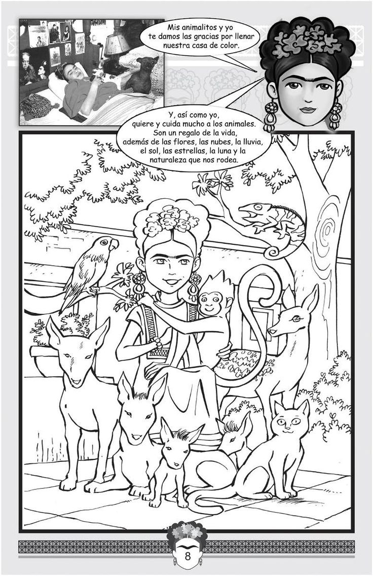 diego rivera printable coloring pages - photo#10