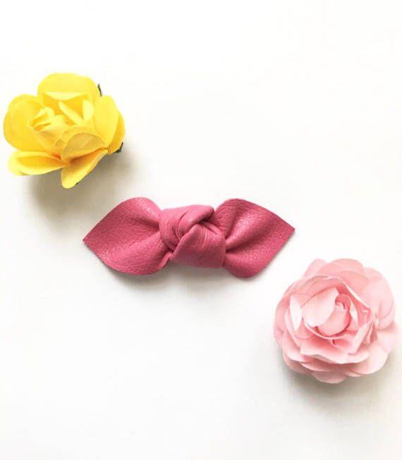 Tulipán rosa nudo arco