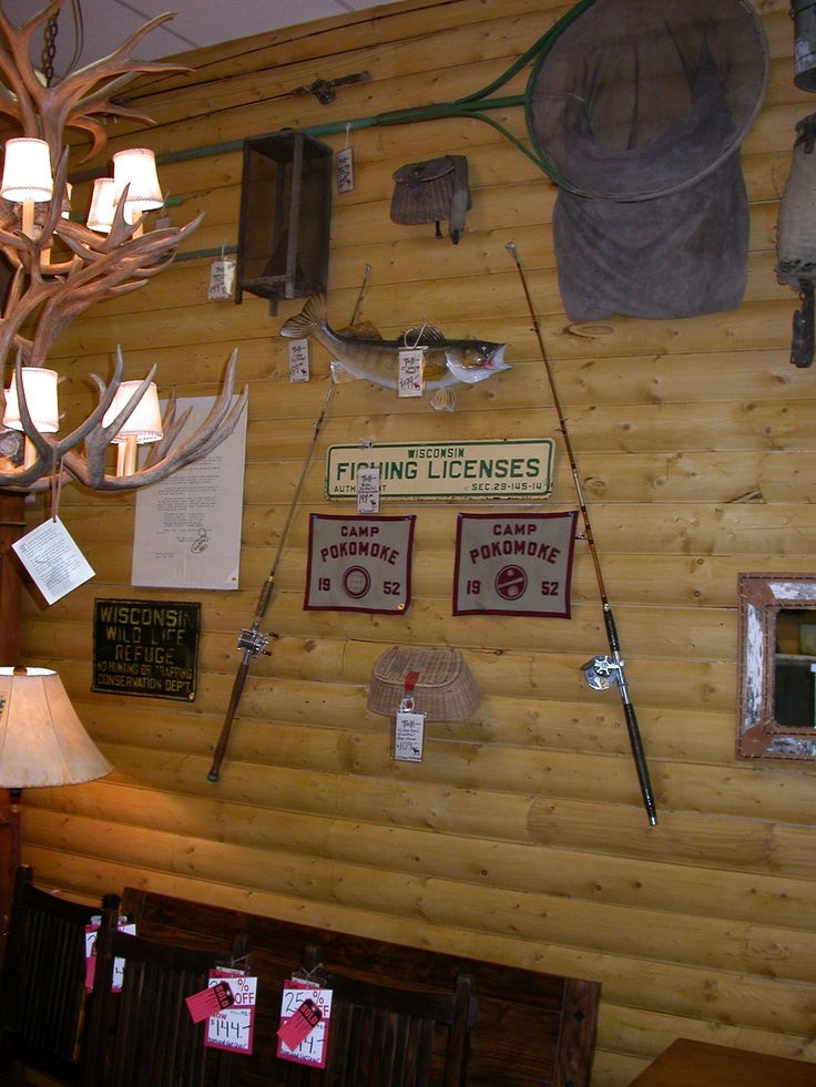 Fishing Camp Decor Cabin Interior  Camp  Pinterest The