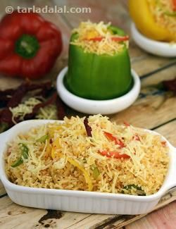 31 best jain recipes images on pinterest jain recipes indian food cheesy pepper rice jain international forumfinder Images