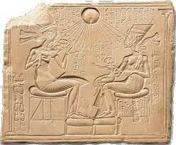 amenhotep and nefertiti wall murals