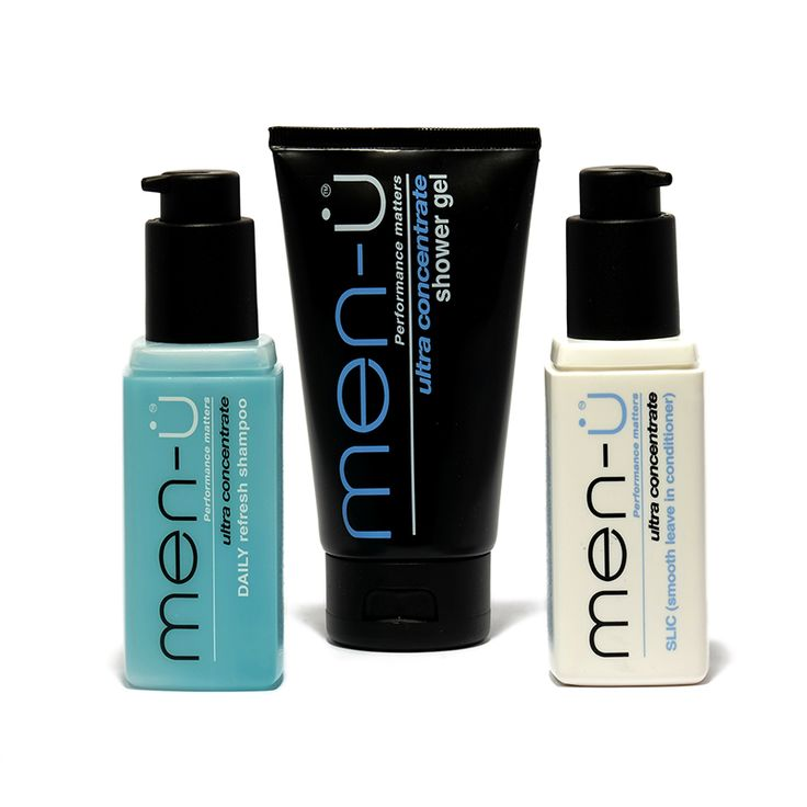 The perfect trio for the gym bag or the weekend away - compact bottles with lockable pumps.