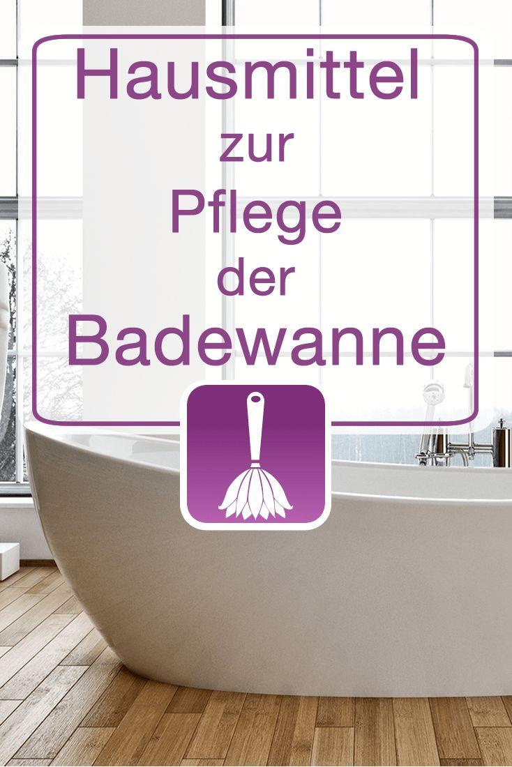 Hausmittel Zur Pflege Der Badewanne Mit Buttermilch Essig Und Salz Badewanne Hausmittel Und Badewanne Reinigen