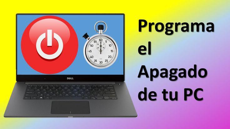Como Programar el Apagado del PC Automaticamente