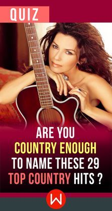 Can you make Dolly proud? Shania Twain? Let's see how many of these classic Country Hits you can name. Country Top Songs, Country Songs Trivia, Country music quiz, Best Country songs. You can't call yourself a Country Music Fan if you don't know these Iconic Country Songs.