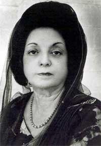 sketch of begum rana liaquat ali khan - Google Search