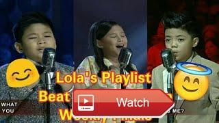 Lola's Playlist Beat The Champion  Lola's Playlist Beat The Champion Eat Bulaga Lola's Playlist Beat The Champion July 11 17 Players Rey Aaron Ocampo