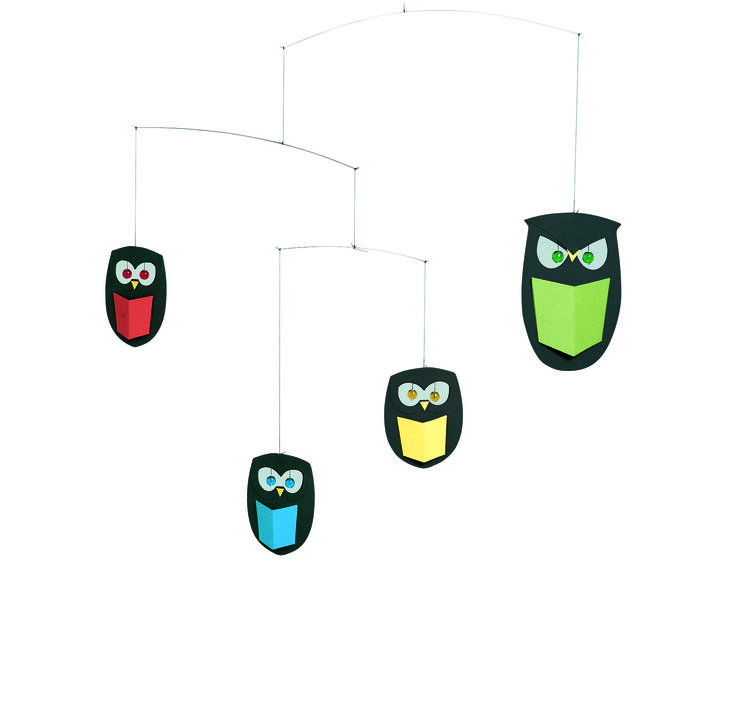The Wisest Owls Mobile by Flensted Mobiles