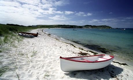 Isles of Scilly ... 'our own, very English, Maldives'. Photograph: Tim Cuff/Alamy