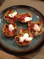 The Blonde Can Cook: Taco Bites!!!!! | Yummie Eats | Pinterest | Taco ...