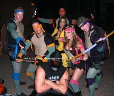 62 best ninja turtle costume ideas images on pinterest halloween homemade teenage mutant ninja turtle costume ideas the homemade teenage mutant ninja turtles group costume was in full effect halloween they were solutioingenieria Gallery