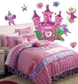 Purple Princess Bed | Castle Beds   Girls Princess Bedroom Decorating Ideas    Fairy Princess .