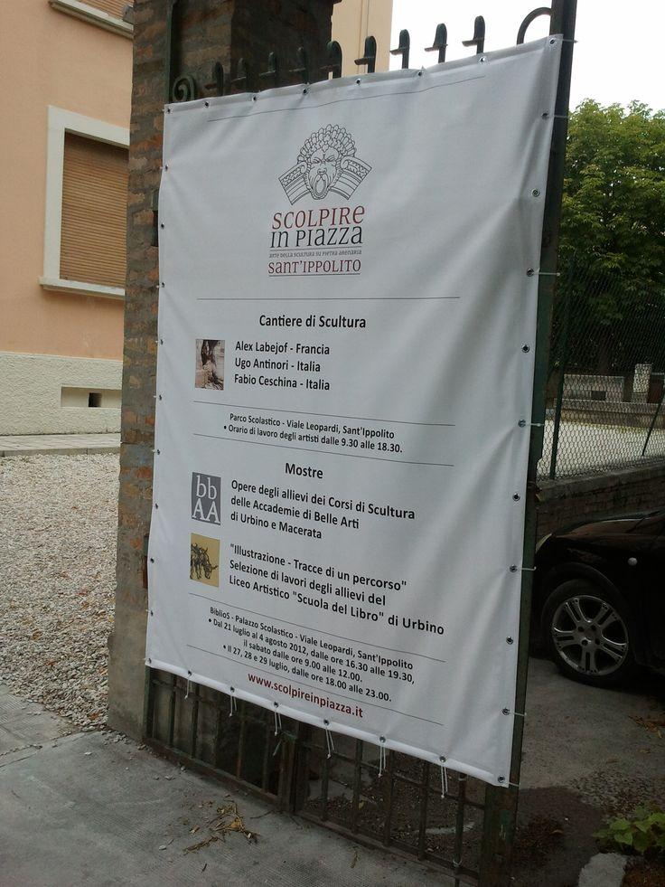 Scolpire in Piazza 2012 - Immagini dal Cantiere di Scultura