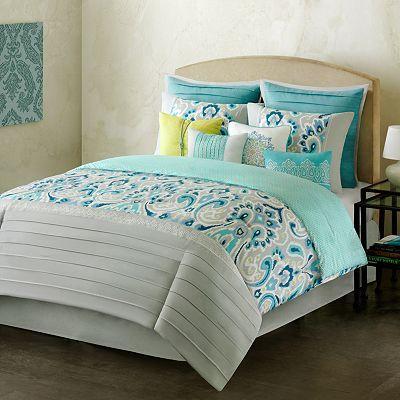 kohls home classics interlude 10 pc comforter set the