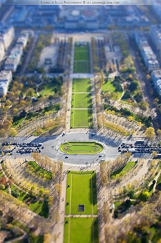 View from Eiffel Tower, Paris