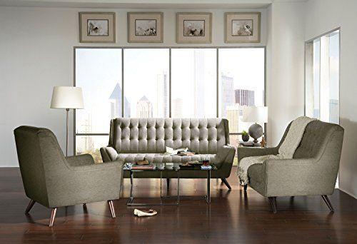 Coaster Home Furnishings 503771 Casual Sofa Grey