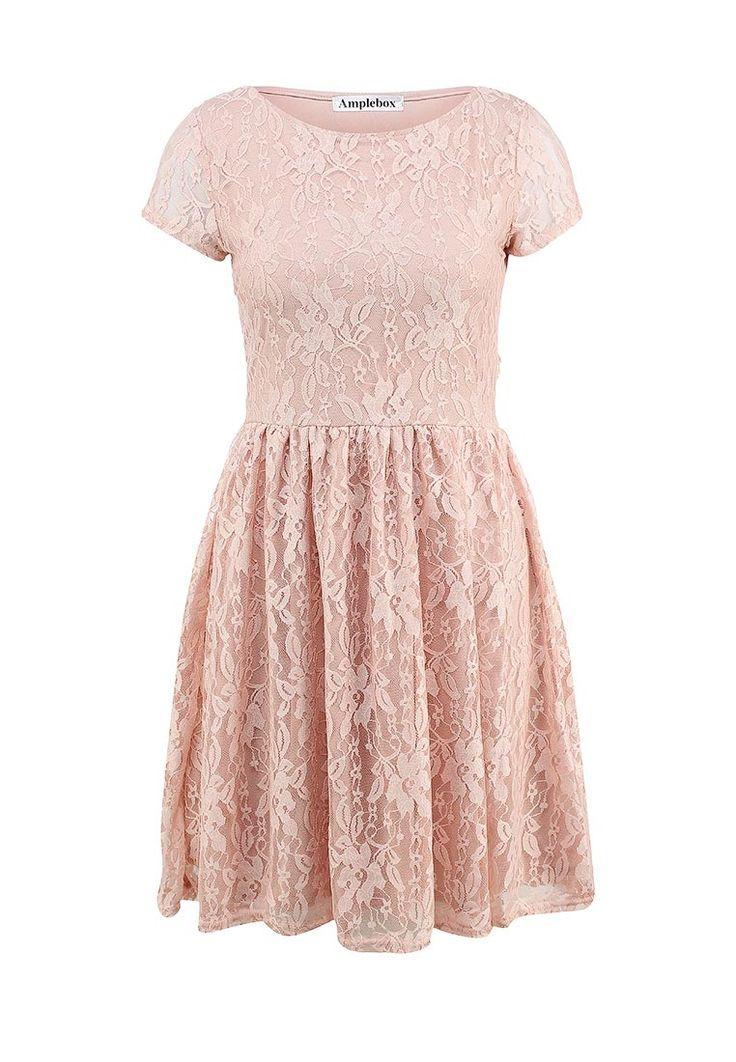 Платье Amplebox купить за 3 499 руб AM014EWFIC33 в интернет-магазине Lamoda.ru
