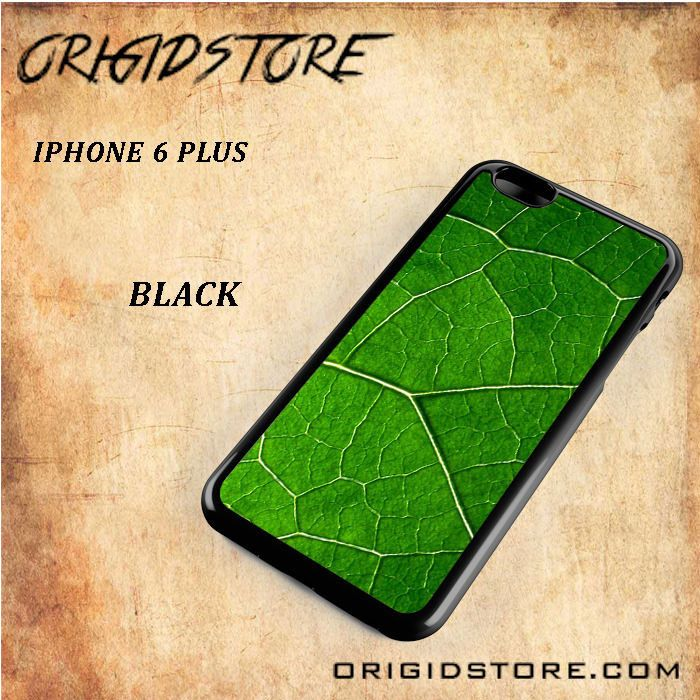 Green Leaf Fresh Nature Black White Snap On Or 3D For Iphone 6 Plus
