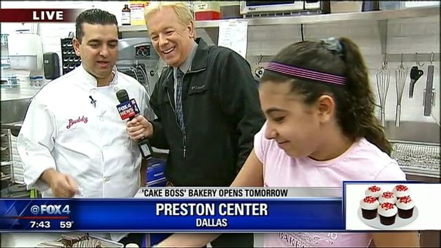 FOX 4's Dan Godwin goes inside the new Carlos Bakery, which opens Saturday in the Preston Center in Dallas. He talks to Cake Boss Buddy Valastro about the cannolis, lobster rolls, layer cookies and other treats that will be available at the new location.