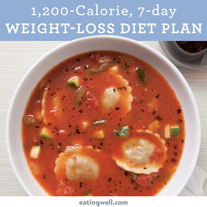 What does a 1,200 calorie day look like? This 1,200-calorie meal plan is designed by EatingWell's registered dietitians and culinary experts to offer healthy and delicious meals for weight-loss.