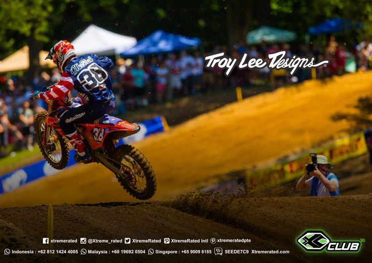 You don't have to be one of the World's Fastest Racers to get your apparel like a pro. Check Our Troy Lee Designs MX Collection at www.xtremerated.com   #xtremerated #xclub #mx #tld #troyleedesigns #jersey #moto #grasstrack