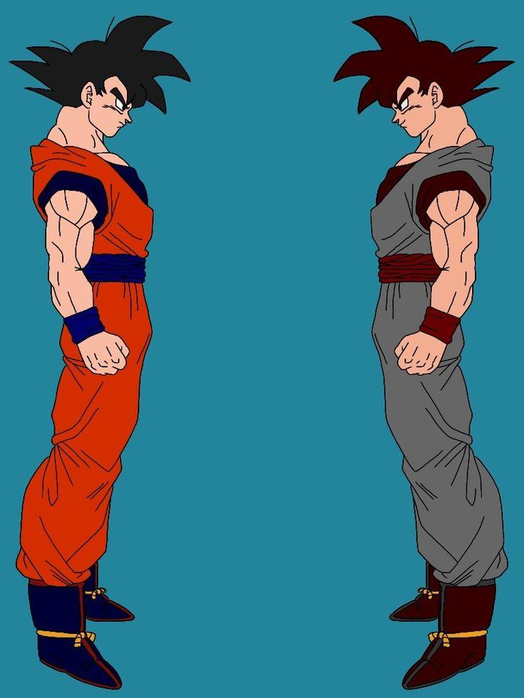 Goku vs Evil Goku by delvallejoel.deviantart.com on @DeviantArt
