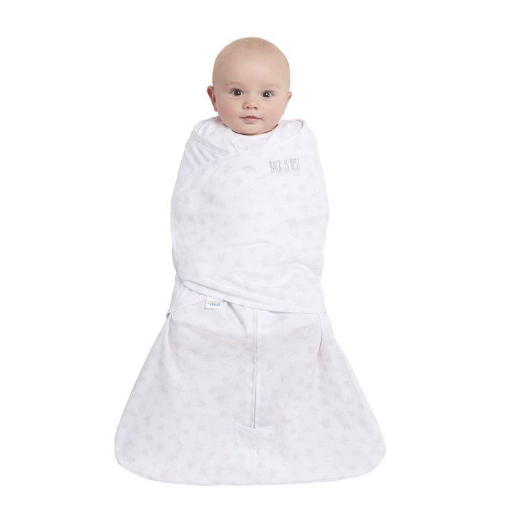 HALO SleepSack Swaddle Platinum 100% Cotton- Grey Twinkle