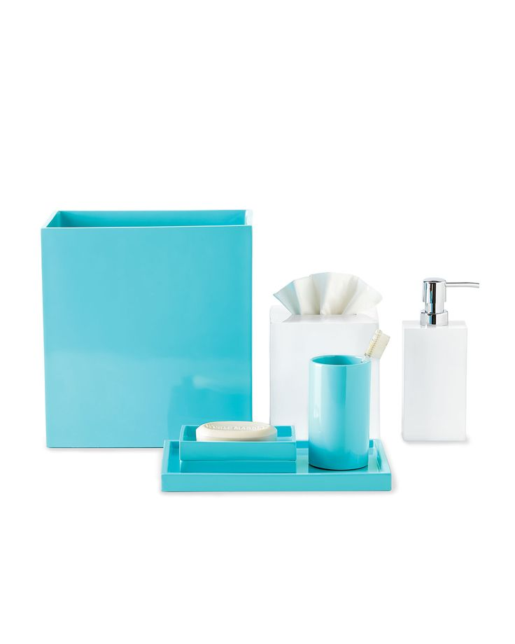crystal bathroom accessories sets%0A Lacquer Vanity Accessories by Jonathan Adler at Horchow