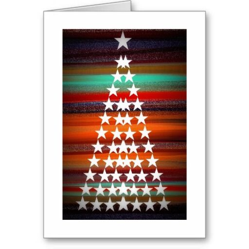 Navajo Christmas Tree Greeting Card