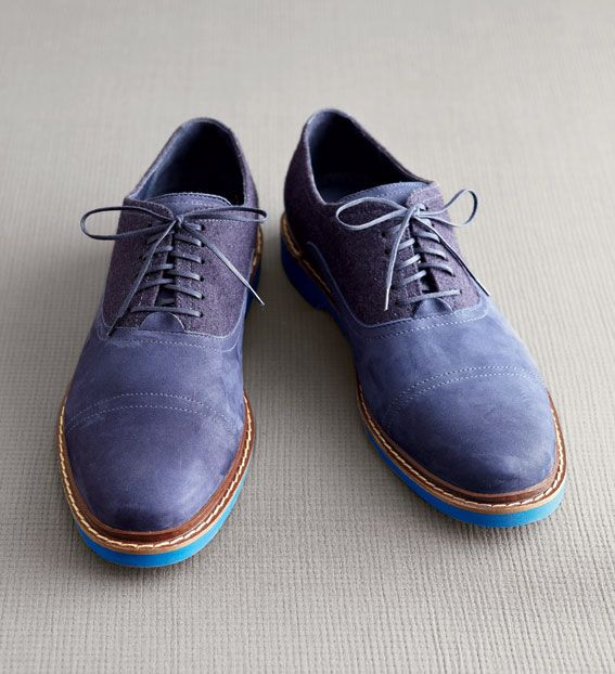 Cole Haan's new wool-and-nubuck oxfords sport hidden Nike Air technology  and a