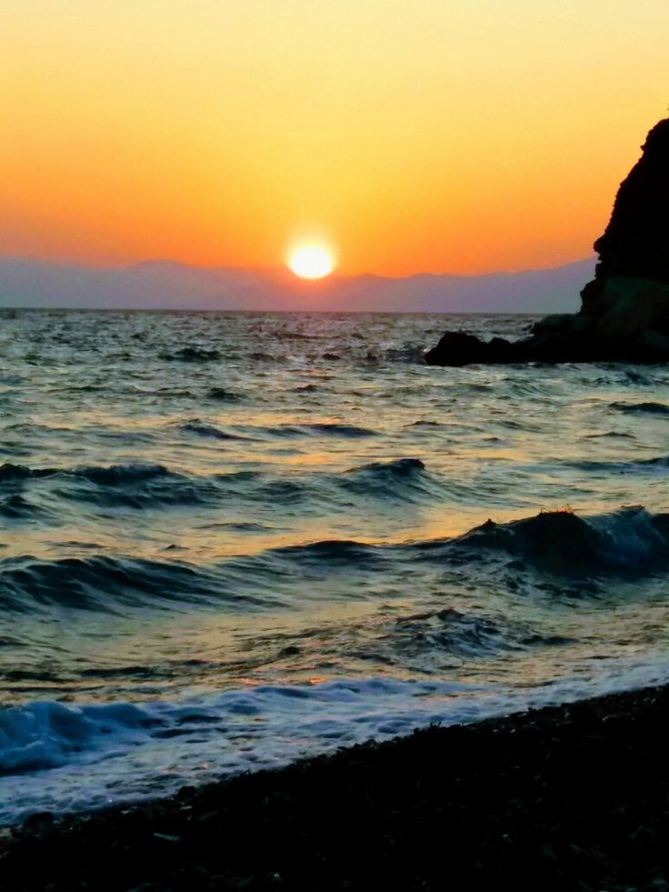 Sunset in Araxos Greece! Beautiful