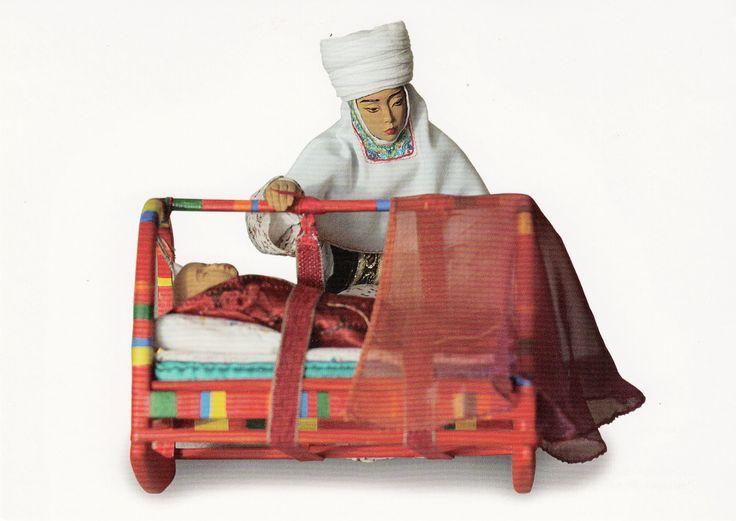Lullaby/ PERNEGUL OMAROVA, ZHANNUR ALIMBAYEV, artists and sculptors from Kazakhstan.