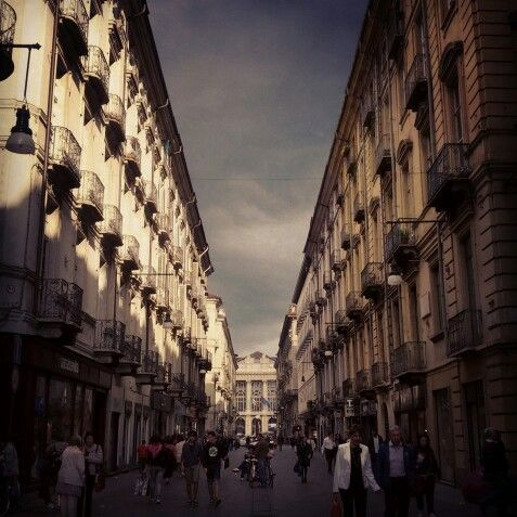 Via Garibaldi - Torino http://instagram.com/p/Zi4wboIzxe/