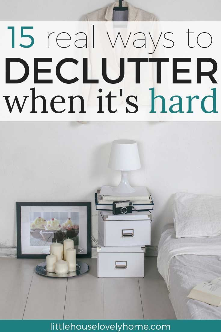 15 Hacks To Help You Declutter Your Home Cleaning Clutter Organization Pinterest And