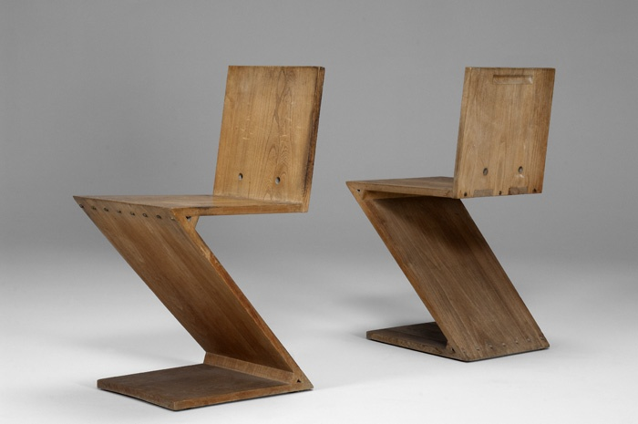 194 best gerrit thomas rietveld chaise zig zag images for Chaise zig zag
