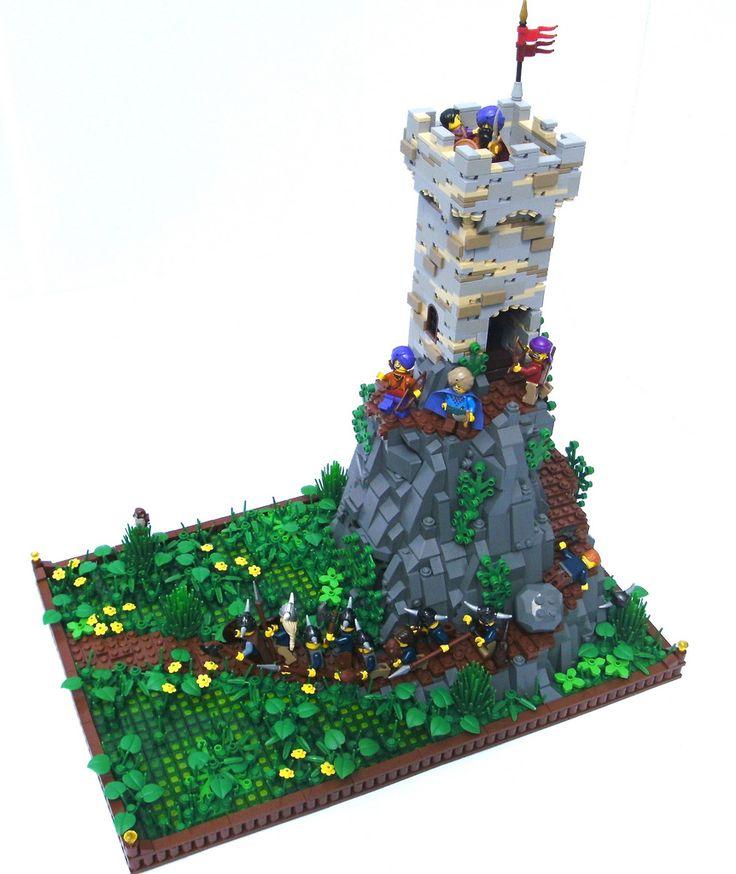 17 Best Images About Lego Castle Inspiration On Pinterest