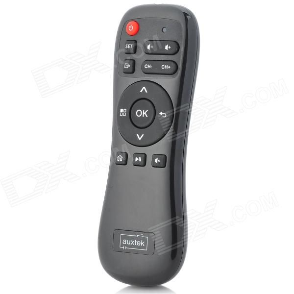 Model: TC-AM-12; Wireless: 2.4G; Power Supply: 2 x AAA batteries (not included); Distance: 10 M; Color: Black; Features: Supports learning function, convenient adjustment, easy operation; Suitable for TV box / TV / PC / HD Google TV player; Supports System: Windows 2000/XP/Vista/7, Mac, Android, Linux; Packing List: 1 x 2.4GHz air mouse; : 1 x USB 2.0 receiver; : 1 x English / Chinese user manual; http://j.mp/1uNY6mW